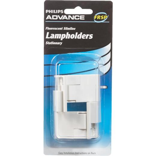 Philips Advance Slimline Tombstone Single Pin Fluorescent Lampholder
